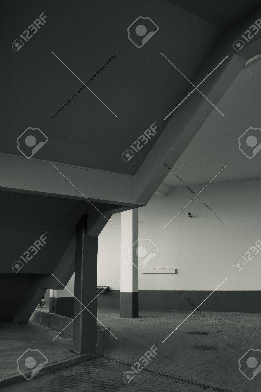 underground parking way out Stock Photo - 8141403