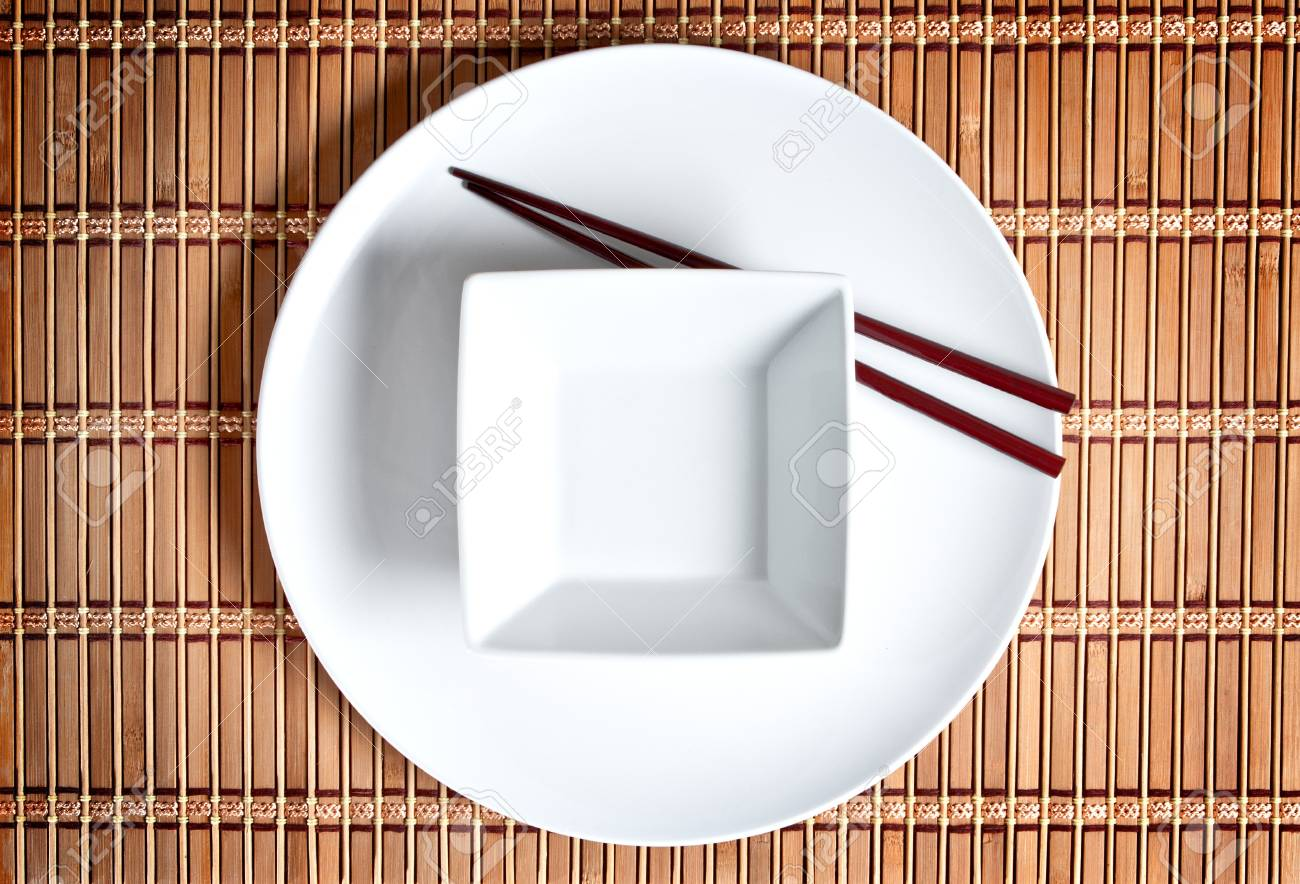 A modern Asian table setting Stock Photo - 12531613 & A Modern Asian Table Setting Stock Photo Picture And Royalty Free ...