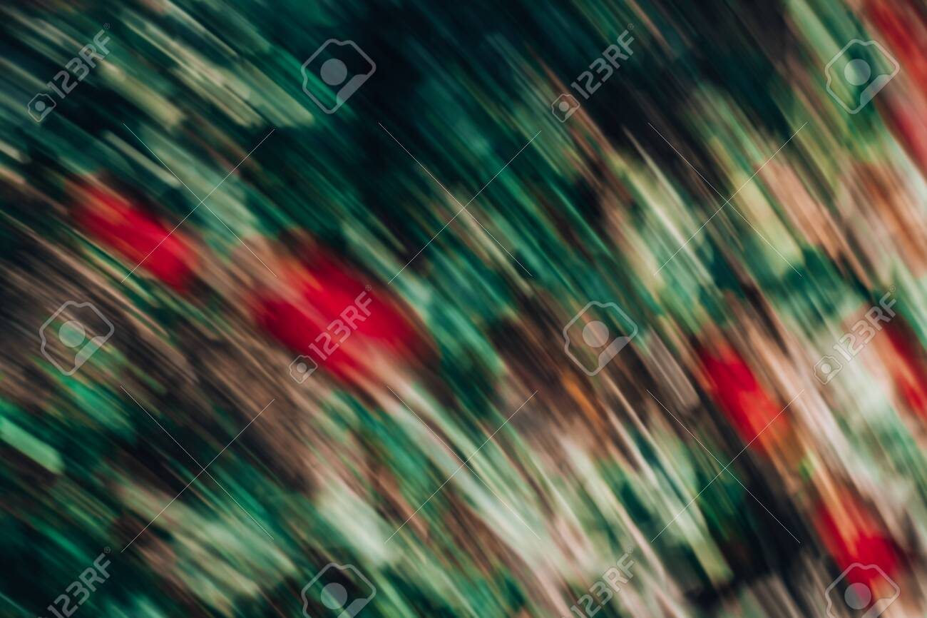 Defocused Dynamic Abstract Background Motion Effect Decorative