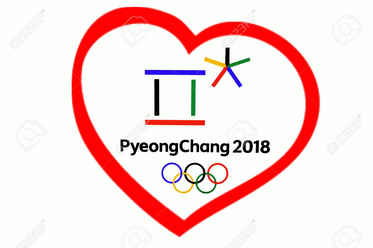 14 December 2017 Moscow Russia Symbols Xxiii Winter Olympic Stock