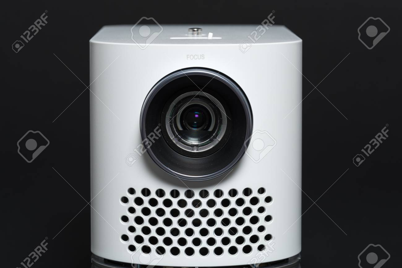 Stylish Mini Home Cinema LED Projector, Lightweight Tech Gadget ...