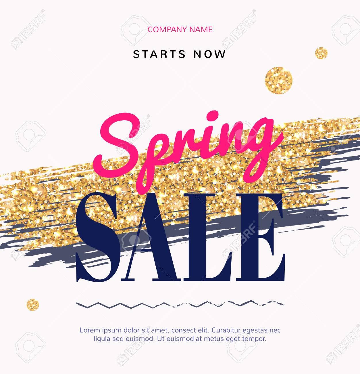 金ブラシで販売ファッション最新の web バナー。スーパー春販売、プロモーション、割引。オンライン ショップの化粧品やファッション、ビューティー  サロン、ショップの特別オファーです。
