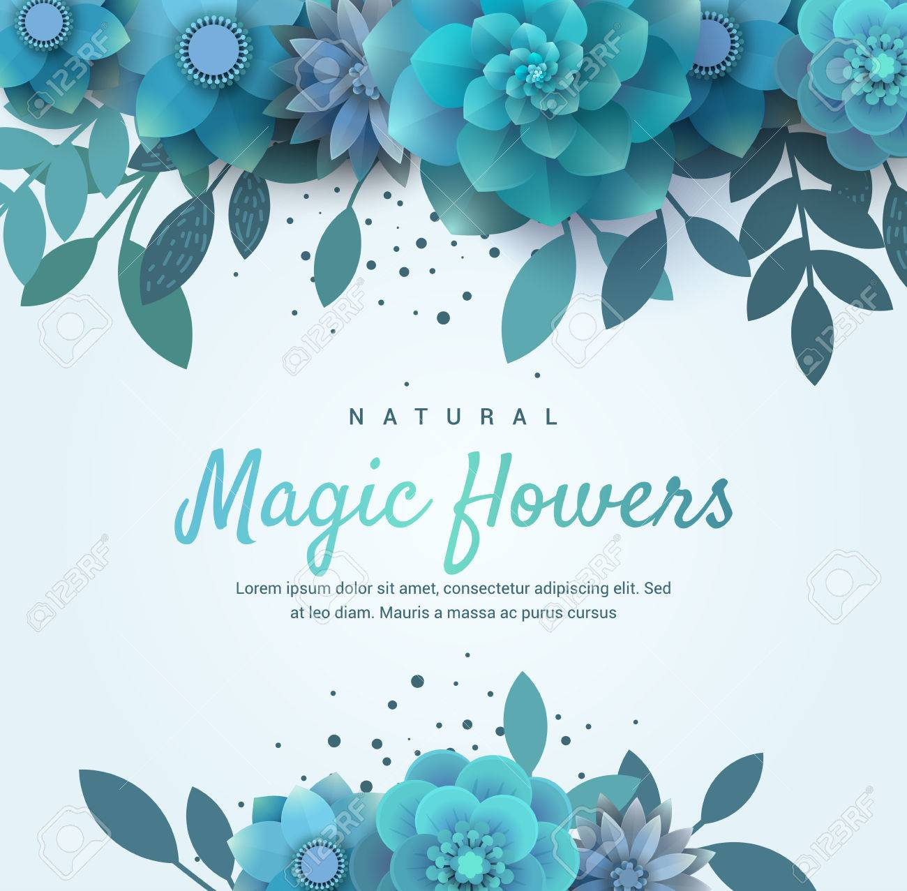 Bright floral arrangement for the invitation vector blue flowers bright floral arrangement for the invitation vector blue flowers illustration can be used for stopboris Gallery