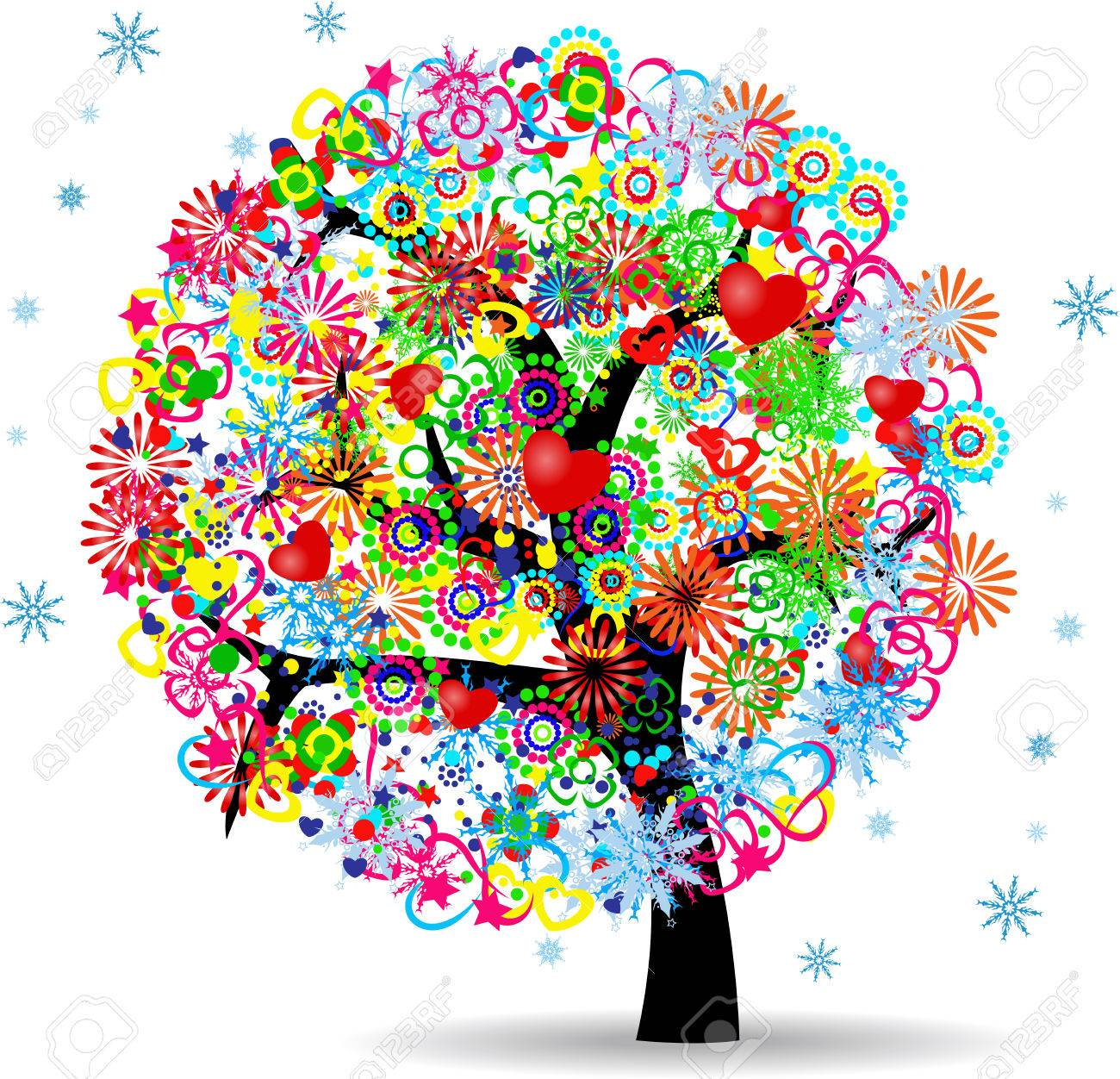 264164f65147 El Árbol De La Vida Ilustraciones Vectoriales