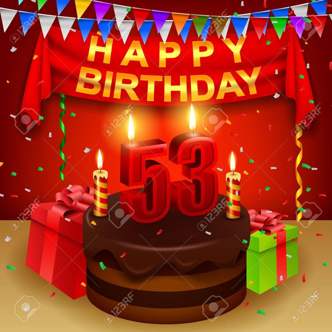 Feliz cumpleaños fabioadler 54765222-53-o-cumplea-os-feliz-con-la-torta-de-crema-de-chocolate-y-una-bandera-triangular-Foto-de-archivo