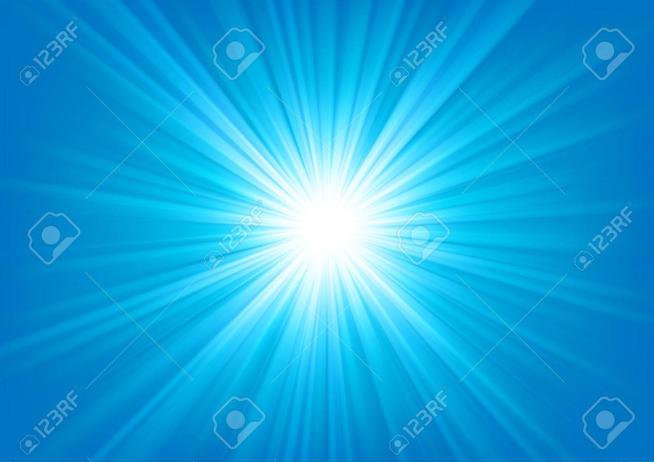 Blue Light Shining On Bright Background Vector Illustration Stock Vector    67913439 Design