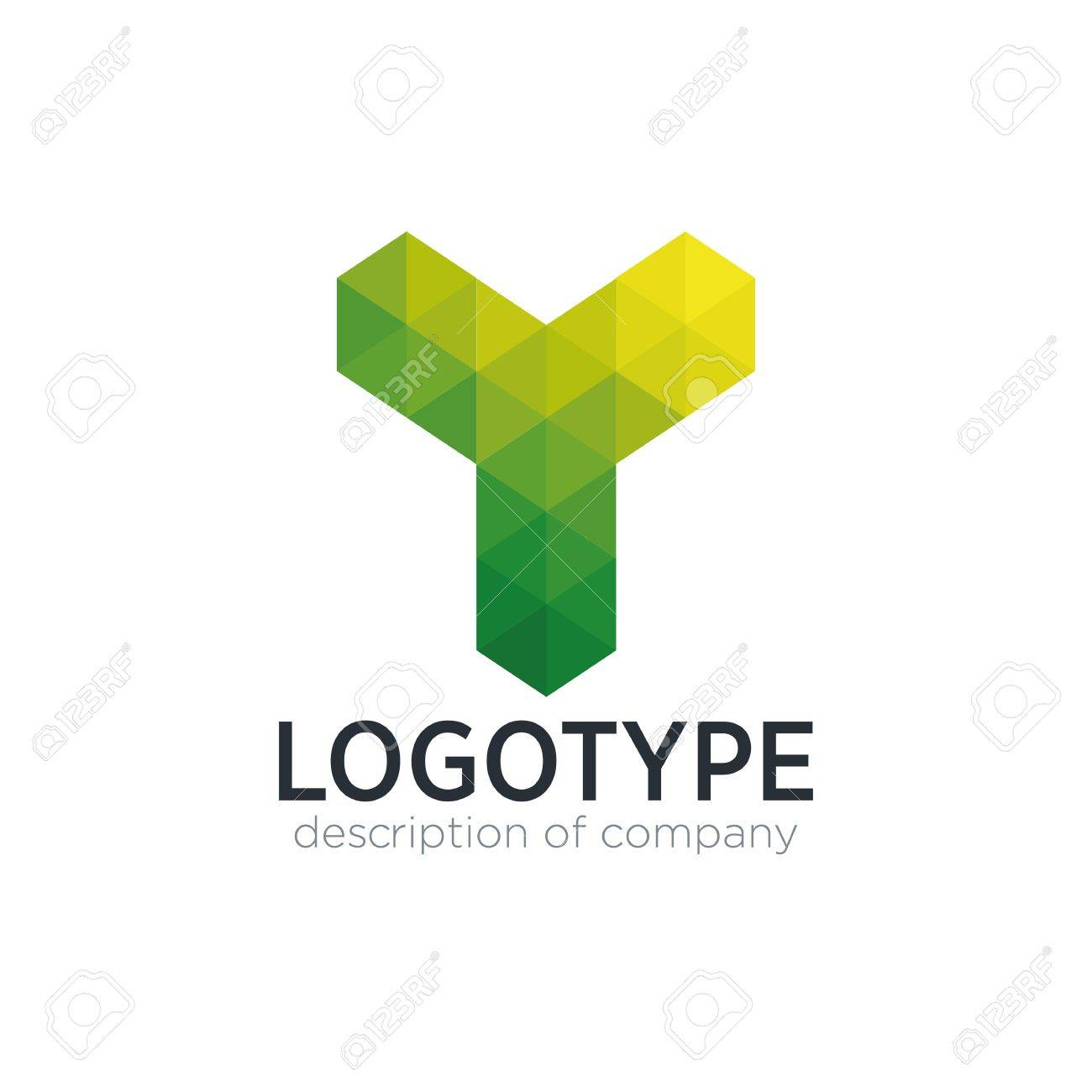abstract trend polygon letter y logo design template stock vector 83859316