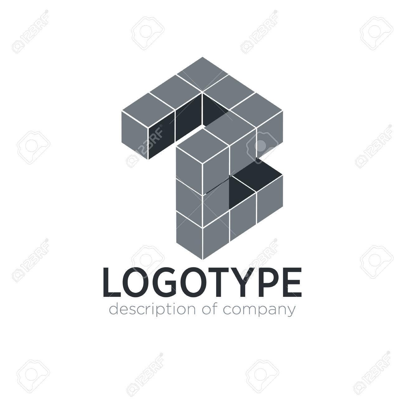 Letter Z cube figure logo icon design template elements - 83859824