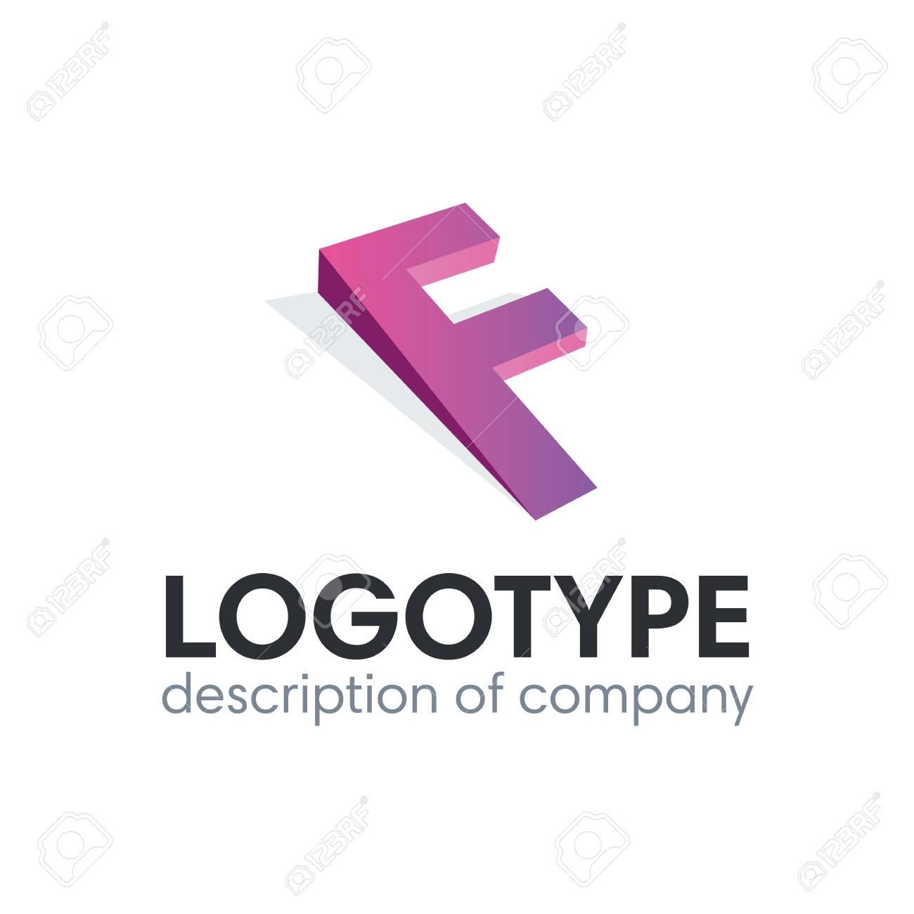 Letter F logo icon design template elements illustration. - 84037610
