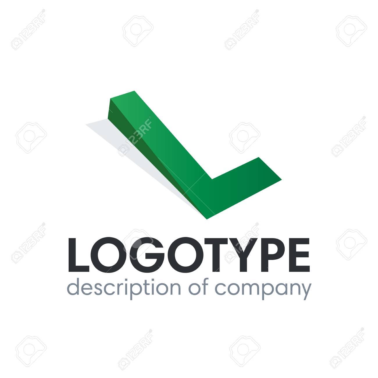Letter L logo icon design template elements - 84049333