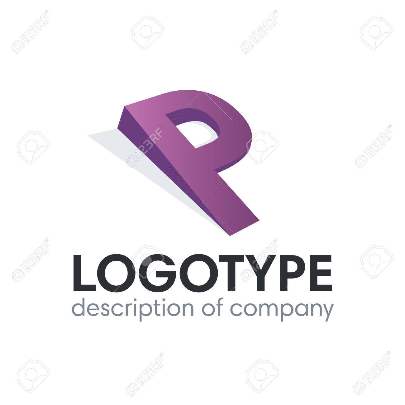 Letter P logo icon design template elements - 84049337