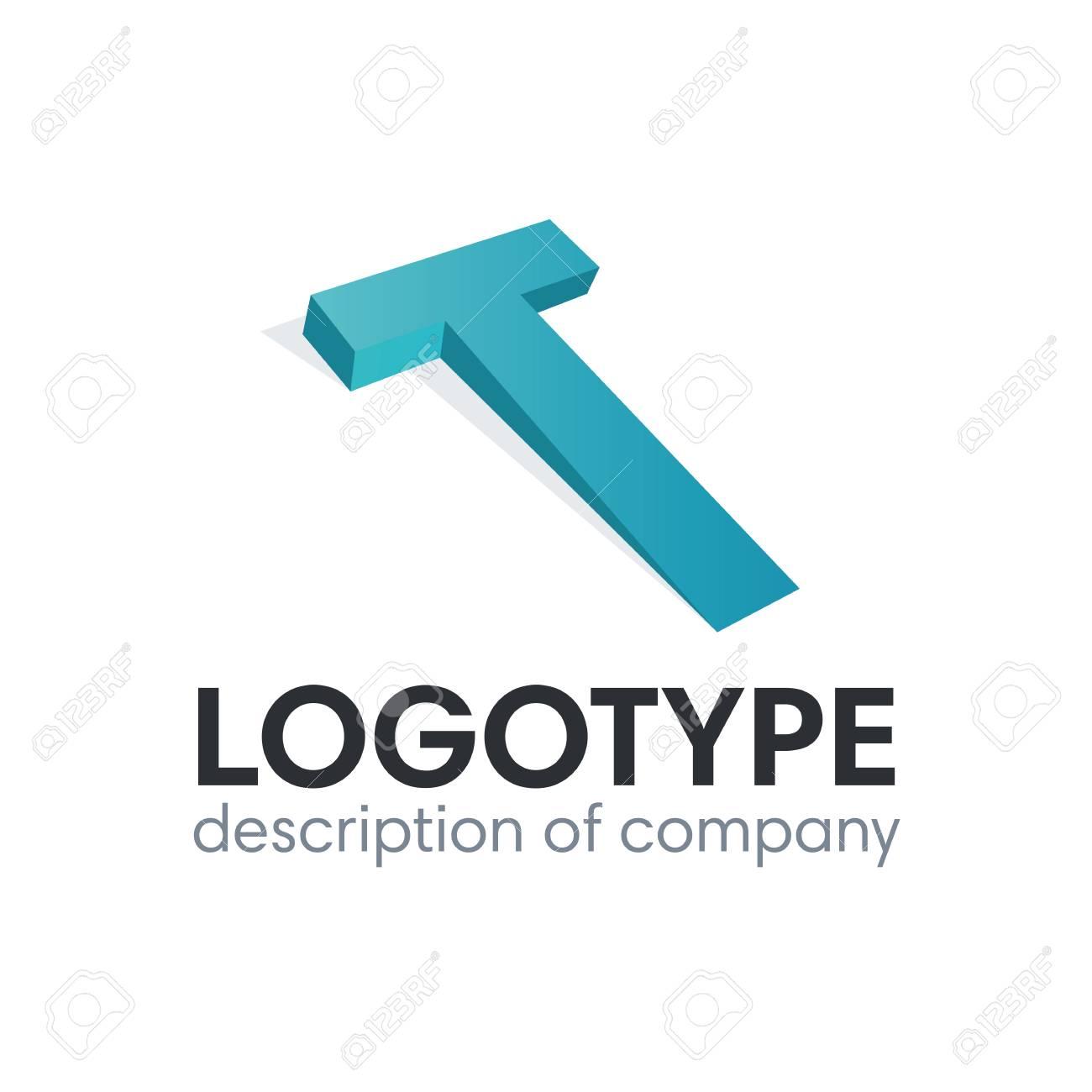 Letter T logo icon design template elements - 84049339
