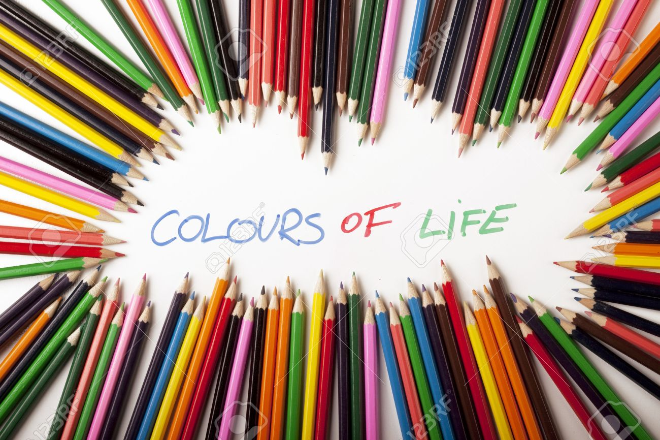 Your Colours of Life! Stock Photo - 6120187
