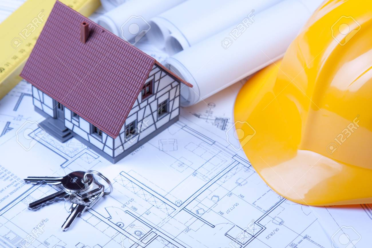 Construction project Stock Photo - 6303586