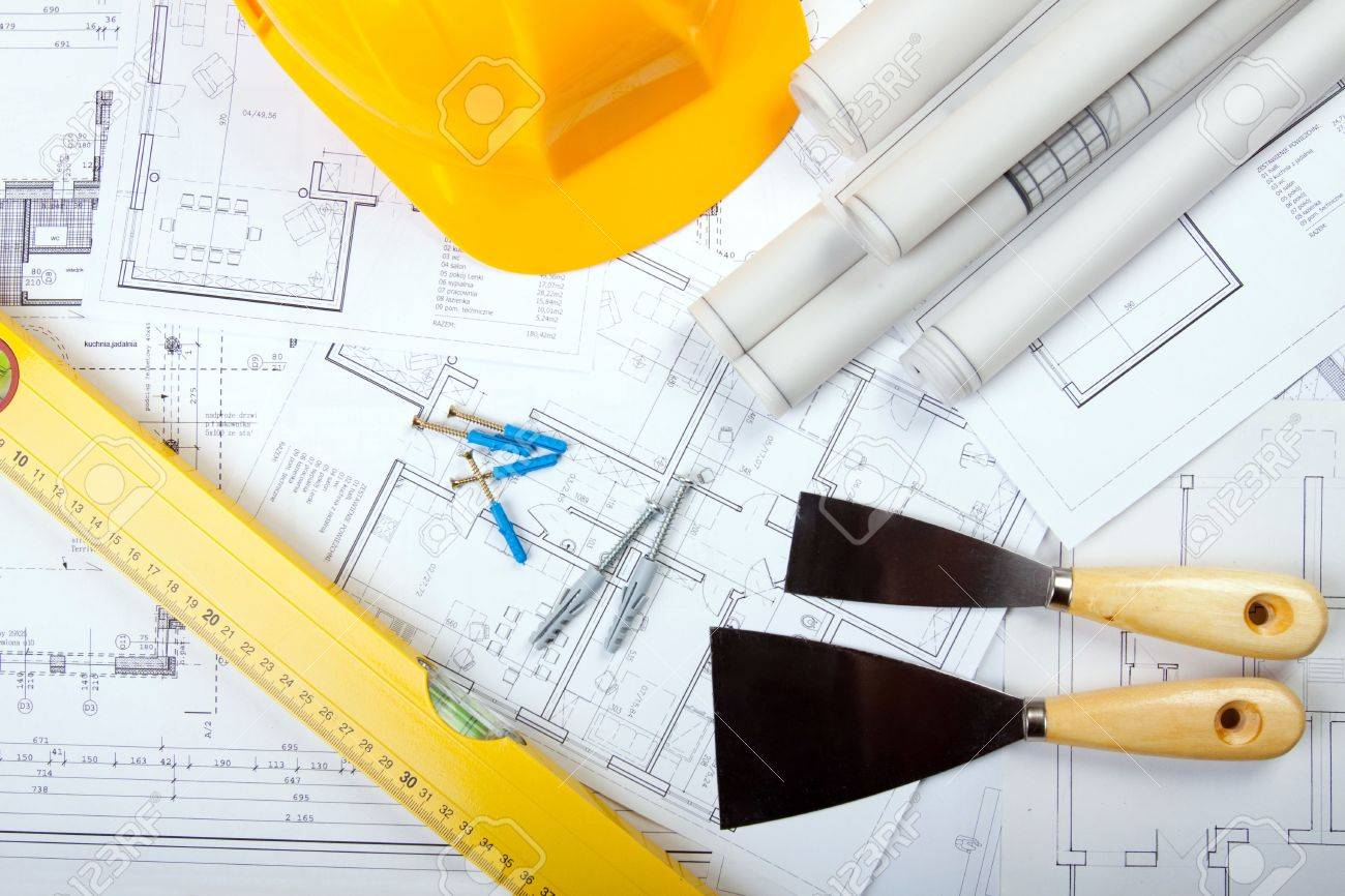 Built plans Stock Photo - 6303625