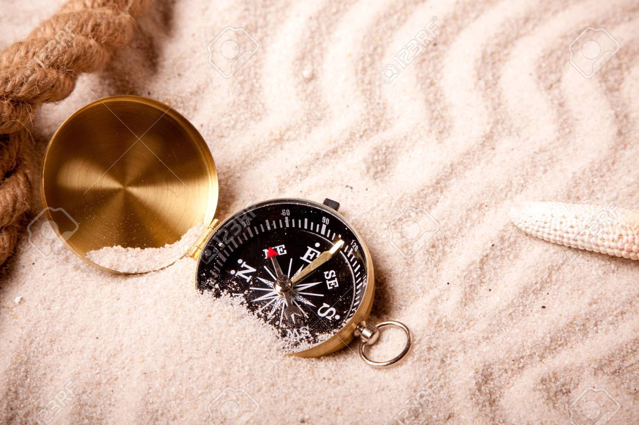 Lost in sand Stock Photo - 7122463