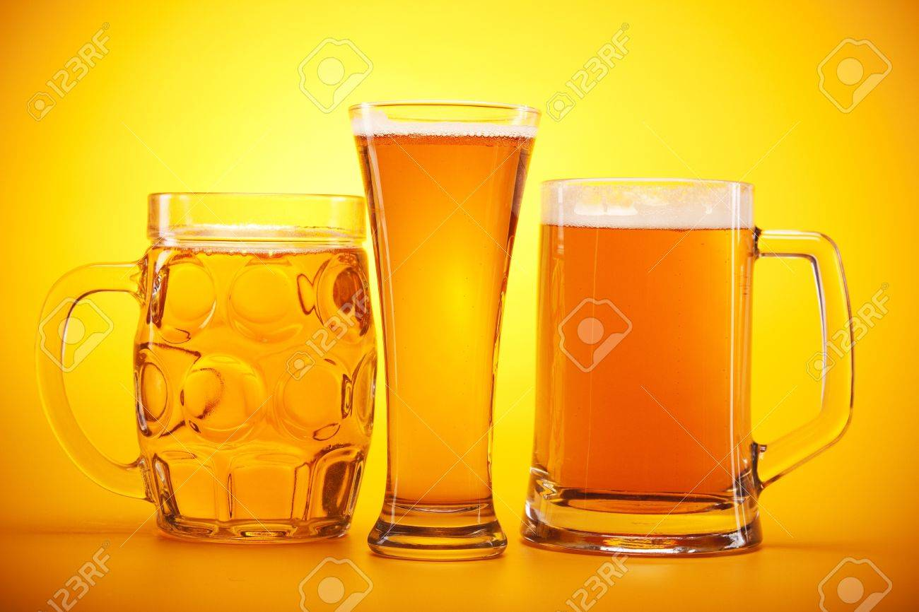 Chilled beer! Stock Photo - 7922439