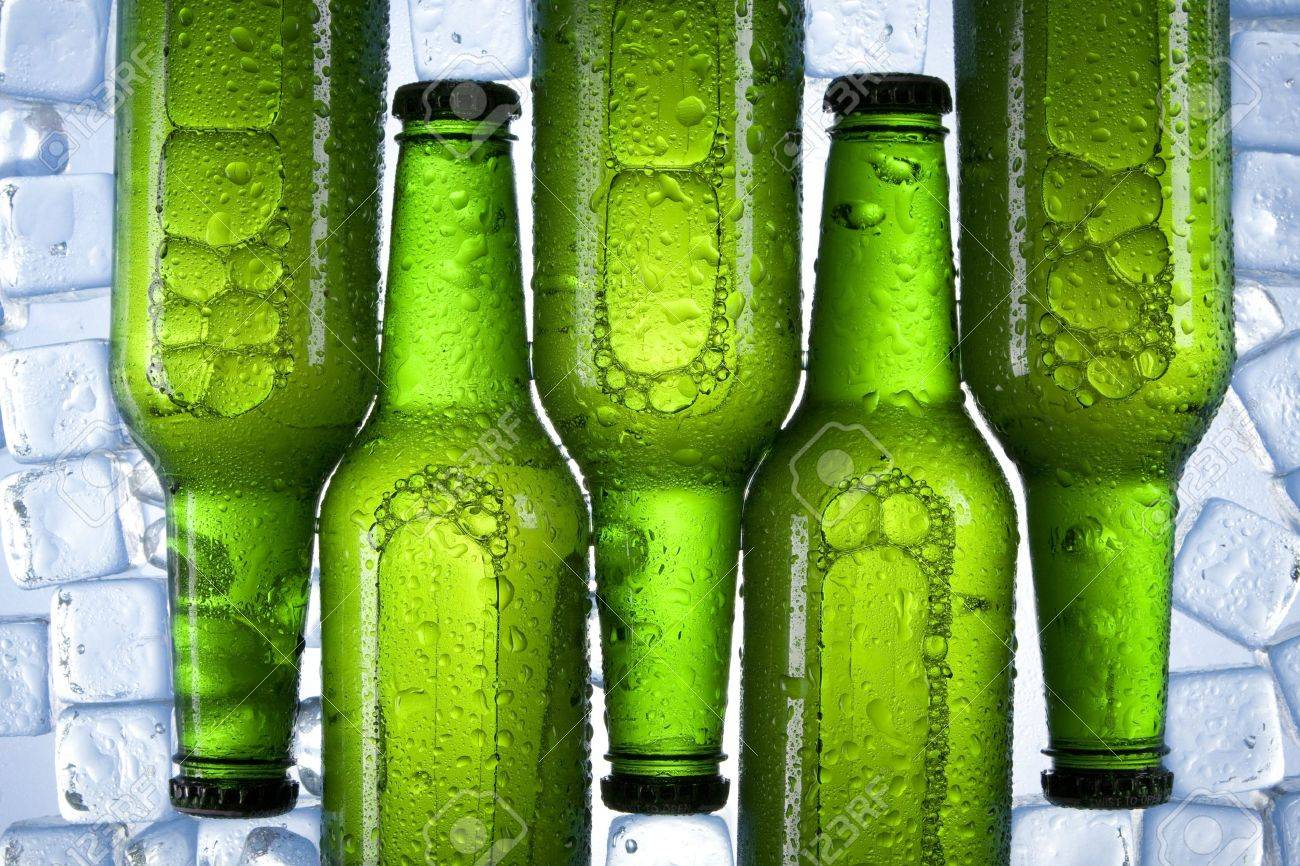 chilled beer Stock Photo - 8235625