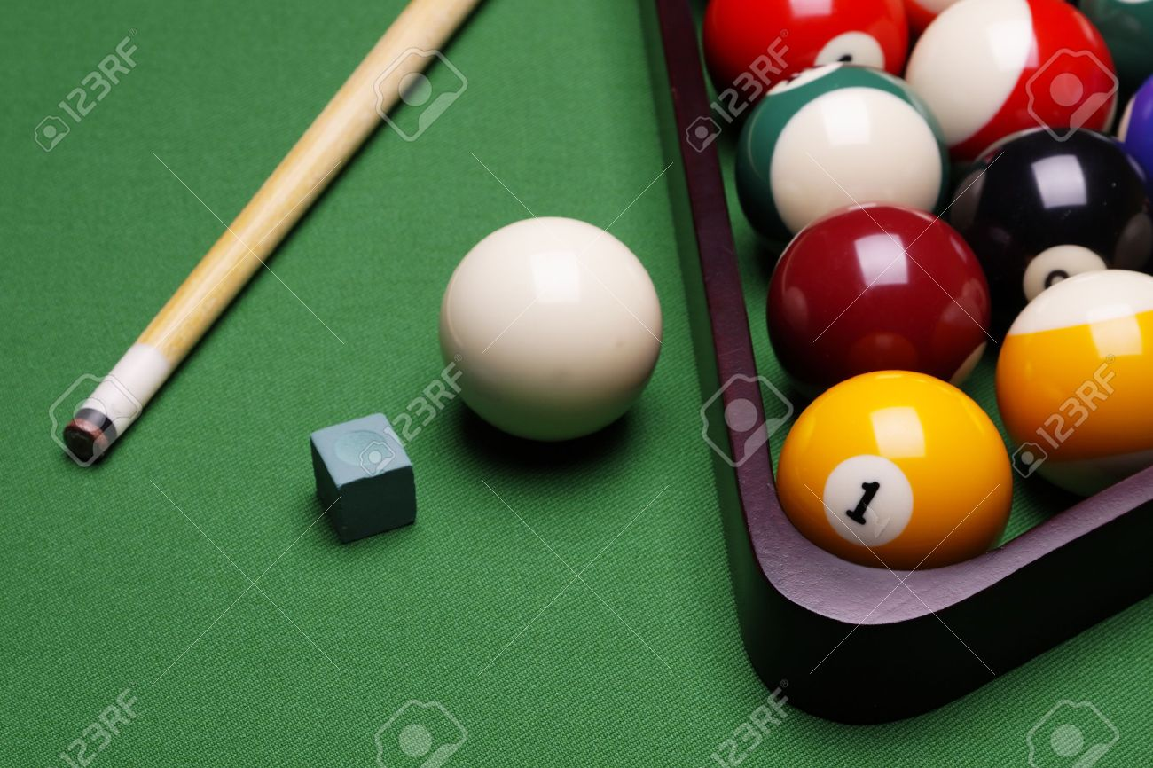 Billiard time! Stock Photo - 8700861