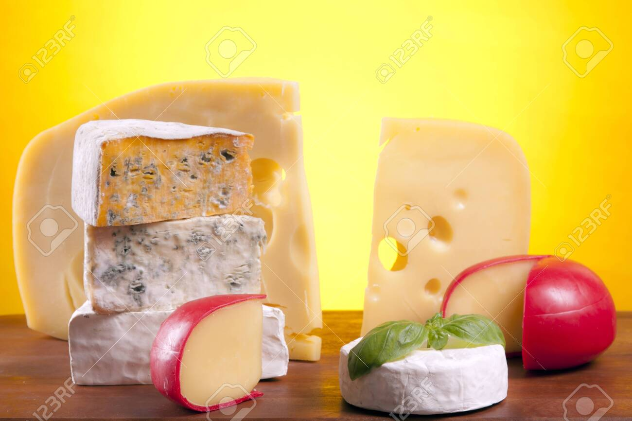 Cheese composition Stock Photo - 10127515
