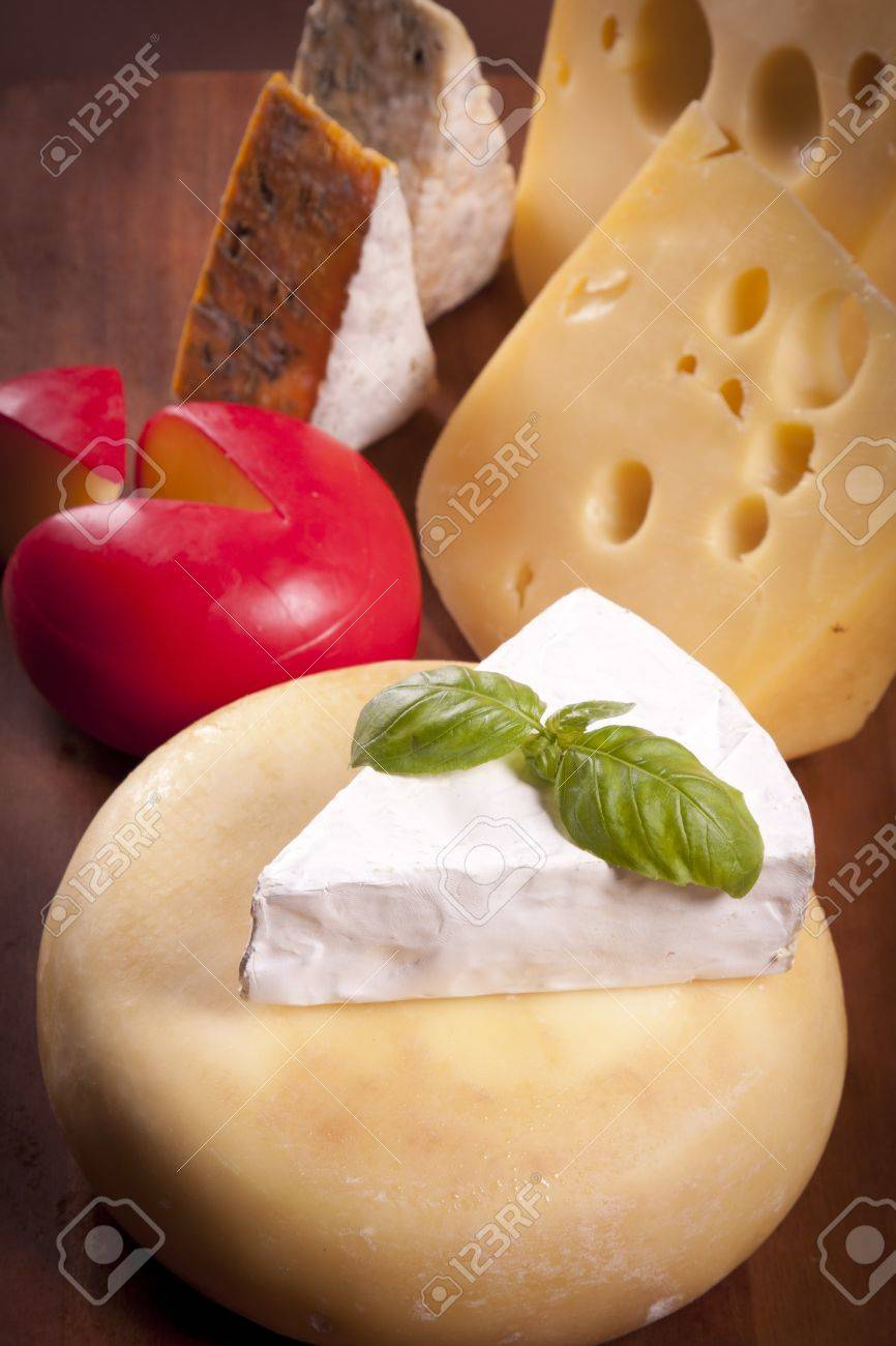 Cheese composition Stock Photo - 10127684