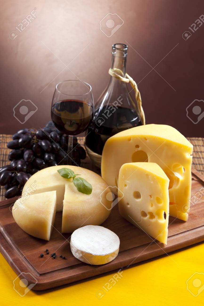 Cheese composition Stock Photo - 10127679