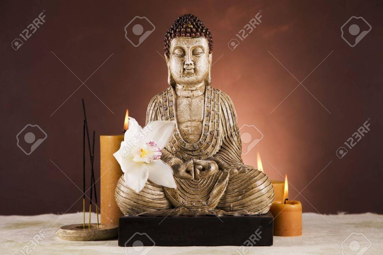 Buddha closeup, religion concept Stock Photo - 12097231