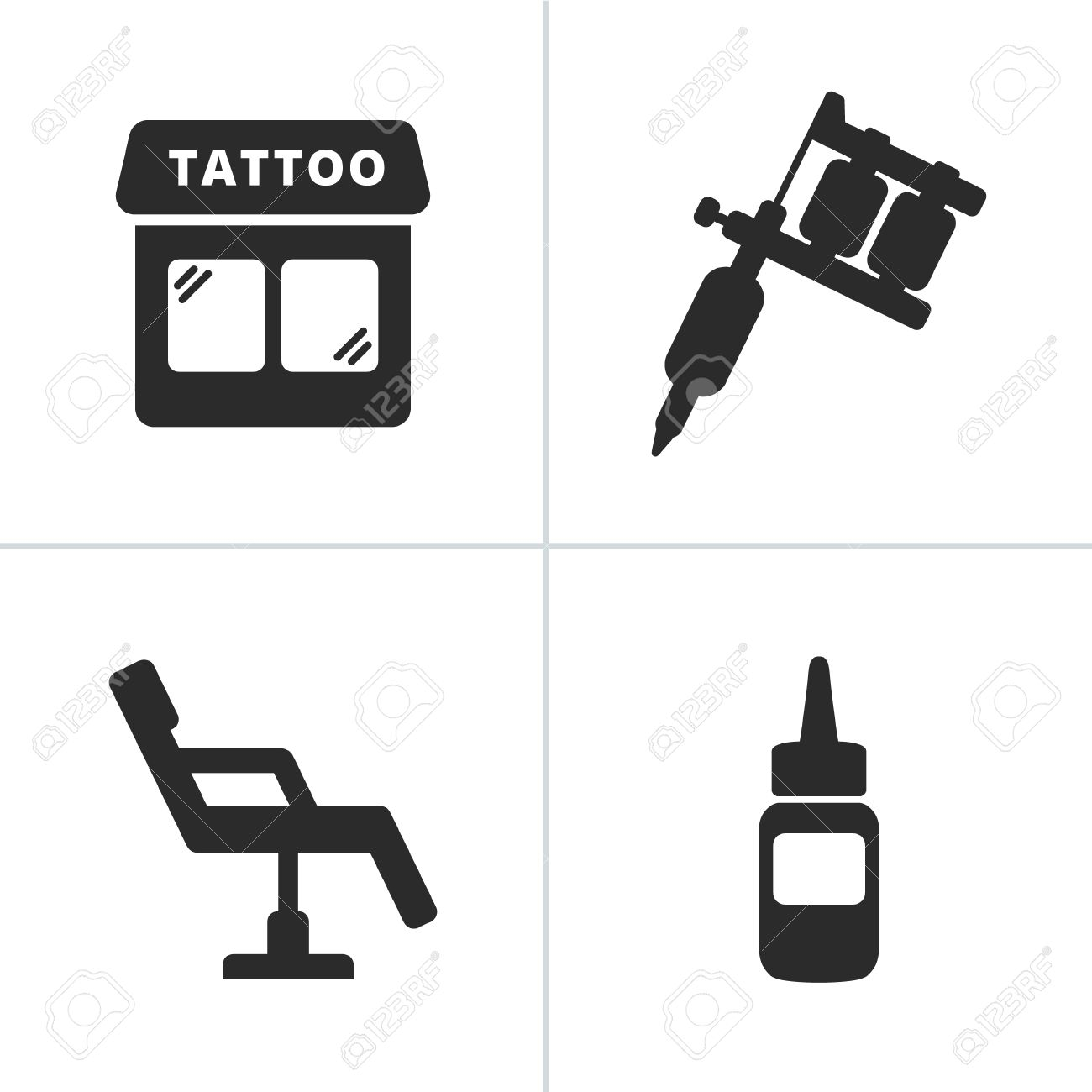 1 651 tattoo machine stock vector illustration and royalty free rh 123rf com Tattoo Machine Silhouette Tattoo Machine Silhouette