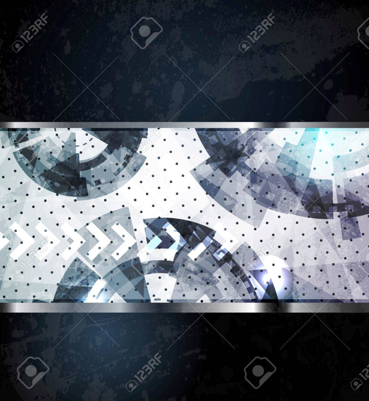 Abstract technology background - vector illustration. For design. Stock Vector - 9932556