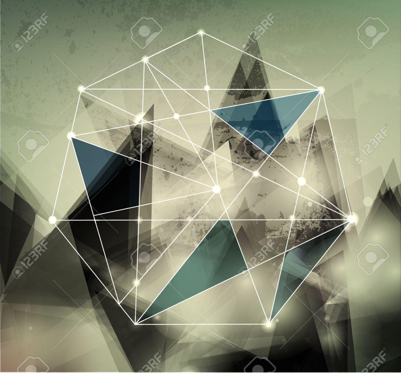 無毛 �techno: vector de fondo abstracto