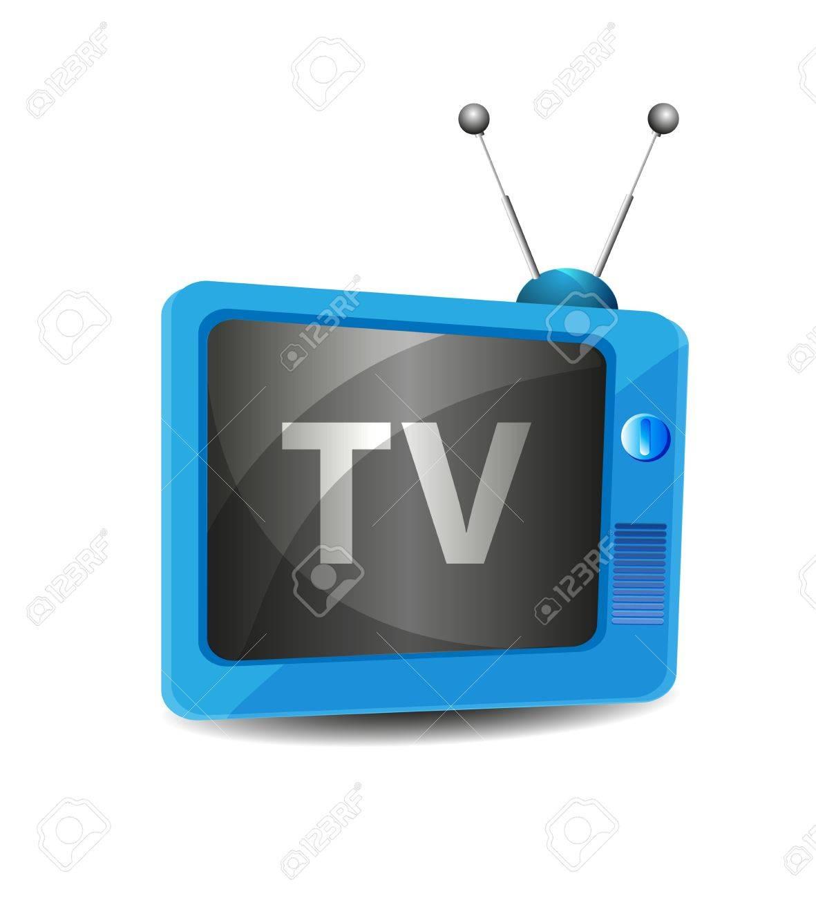 Cute retro tv vector Stock Vector - 11837527