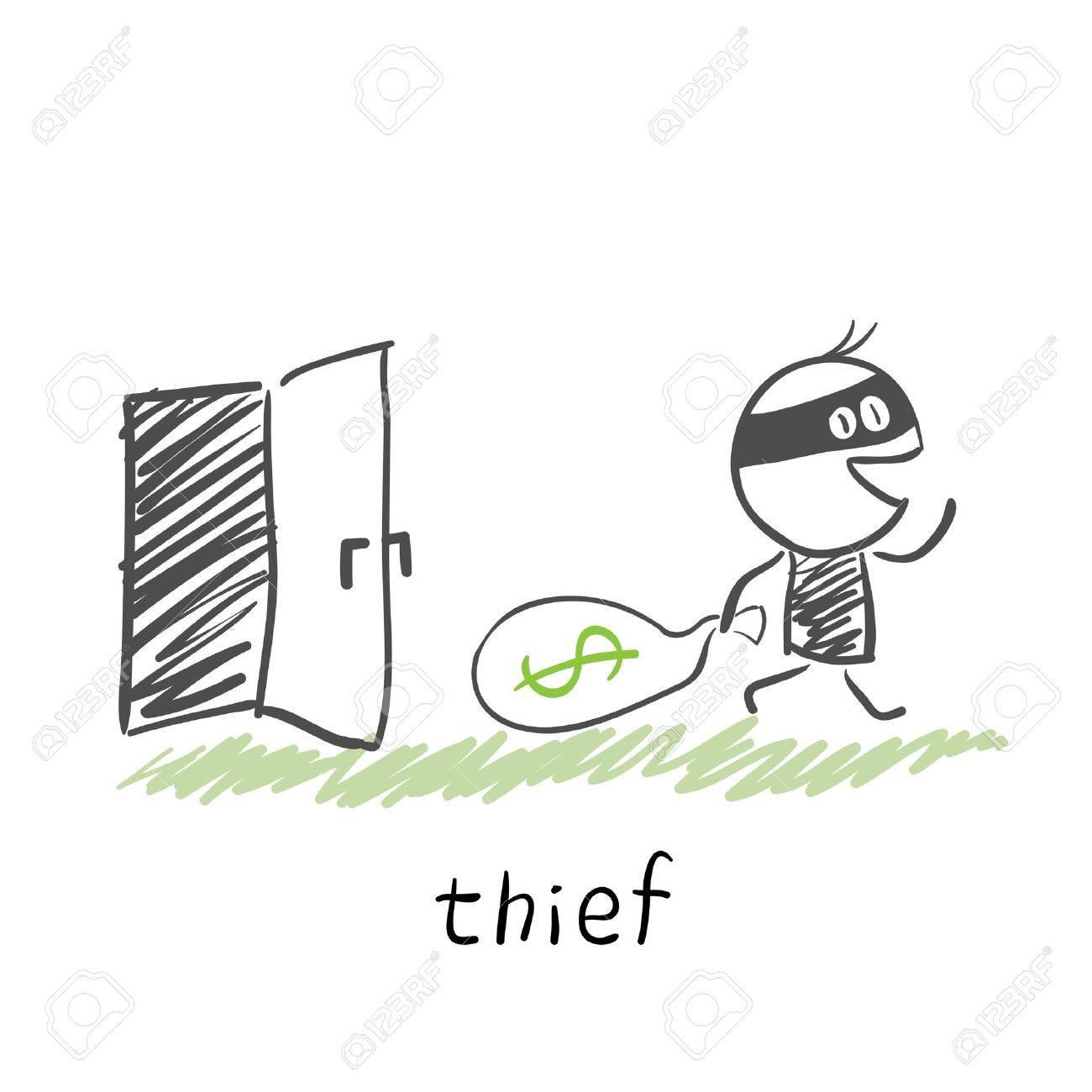 thief Stock Vector - 13272450