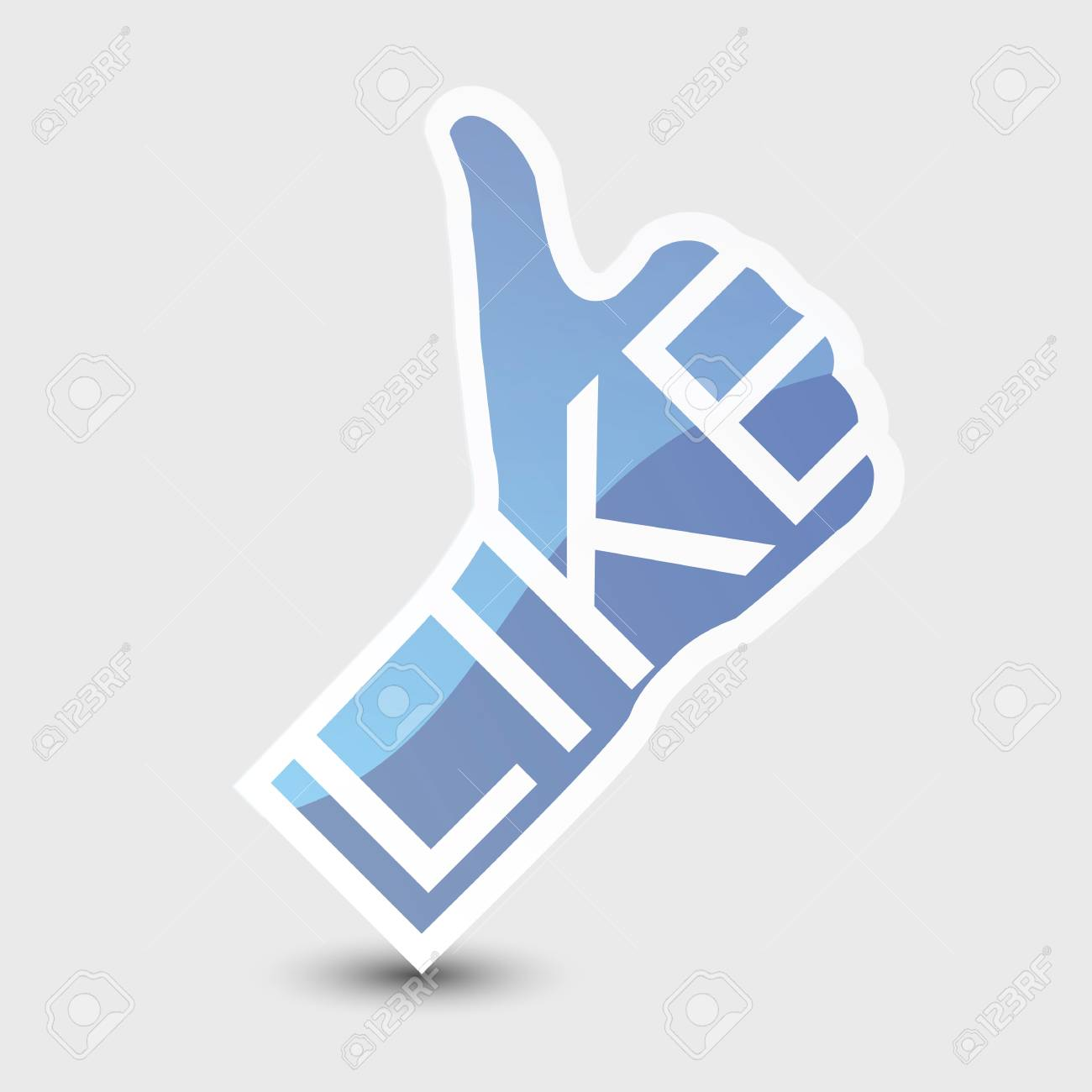 Like symbol. Thumb Up. Stock Photo - 14275763