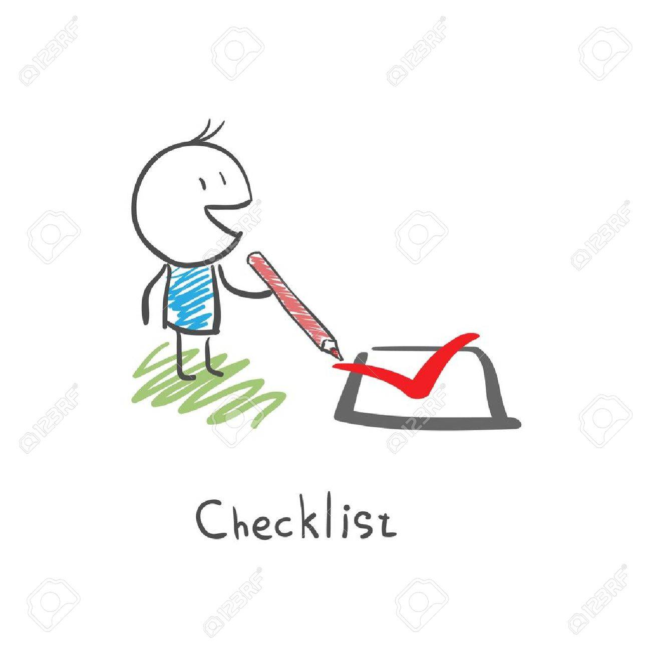 Checklist Stock Vector - 14579893