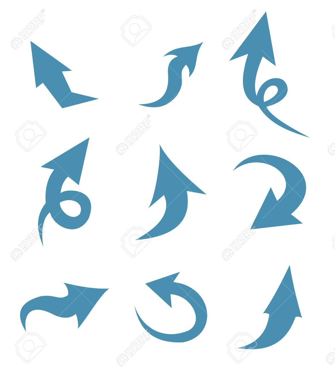 vector arrows Stock Vector - 15127650