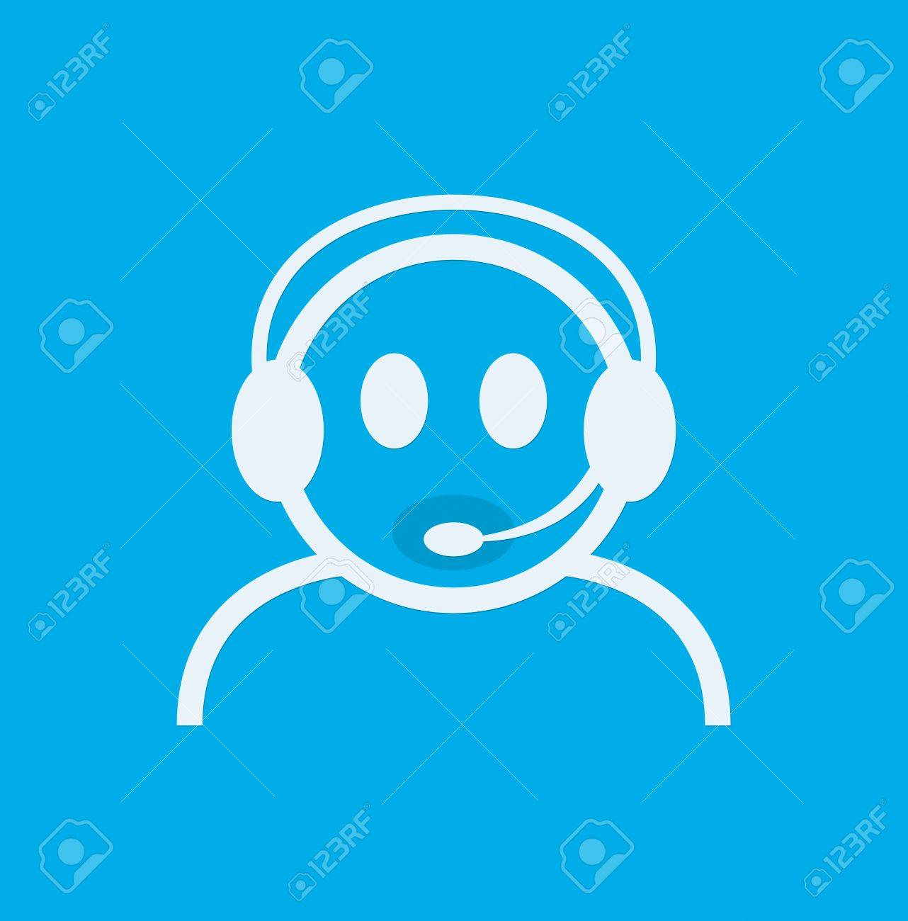 Contact Support Icon Support Icon Vector Chat