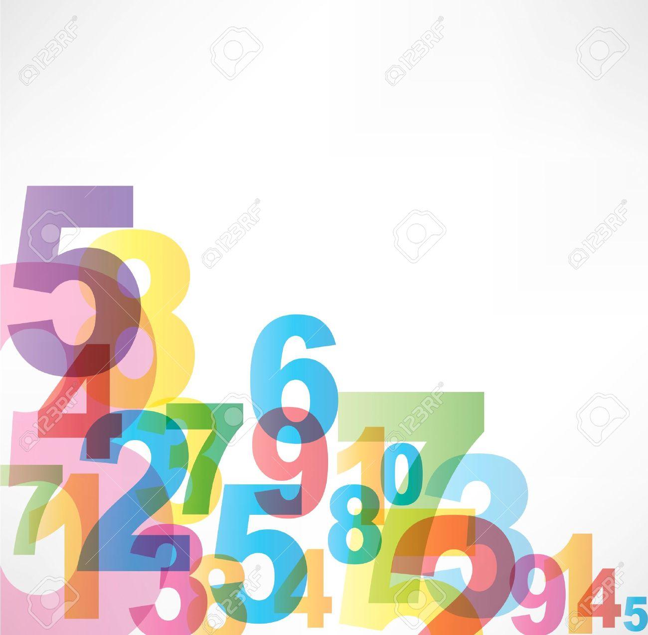 Jumbled Numbers Jumbled Numbers Background