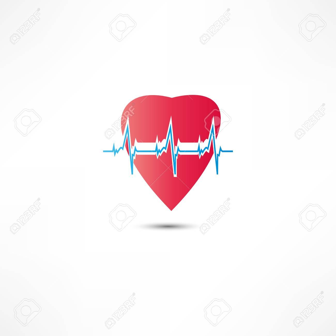 Cardiogram Icon Stock Vector - 16366200