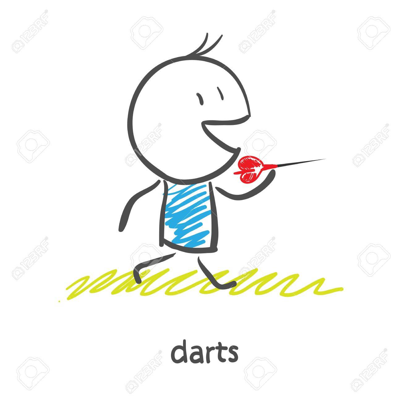 Darts Stock Photo - 16838956