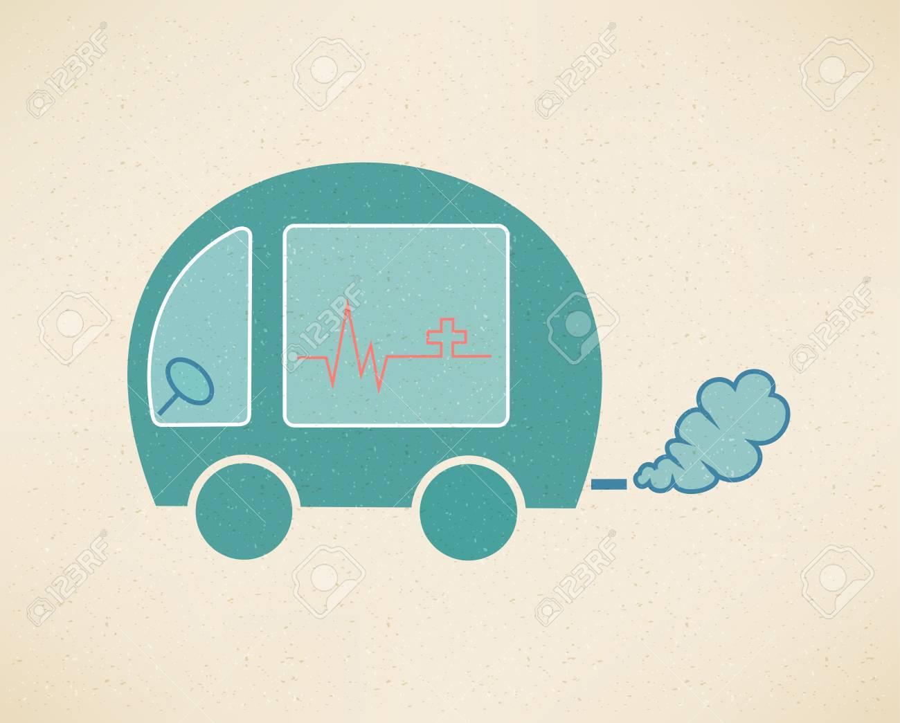 Ambulance Stock Vector - 17159328
