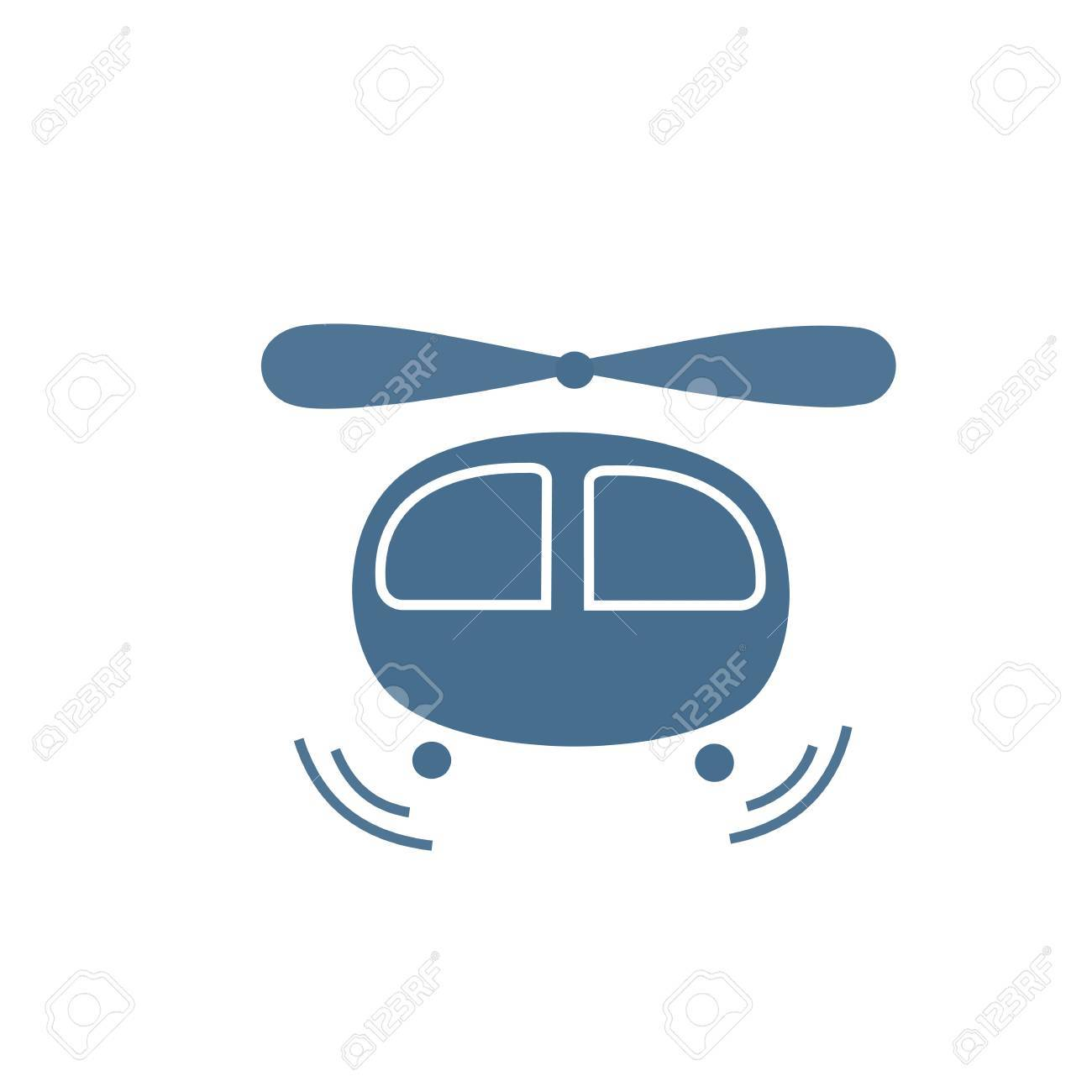 Helicopter Icon Stock Vector - 17463310