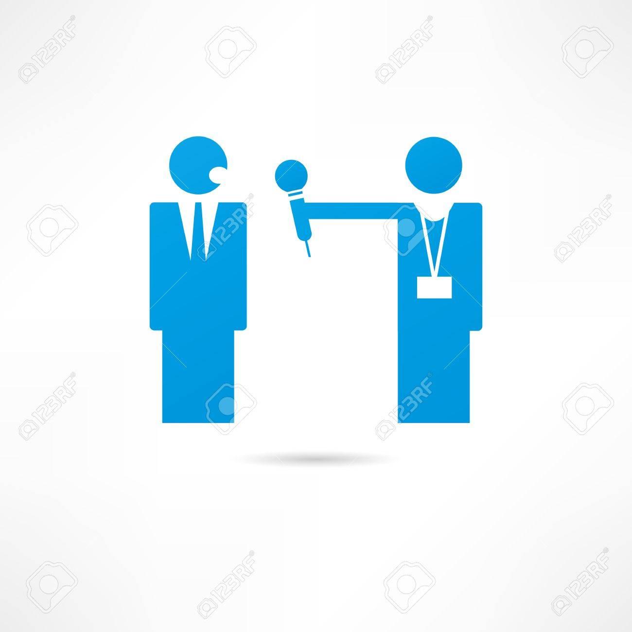 Interview icon Stock Vector - 17954853