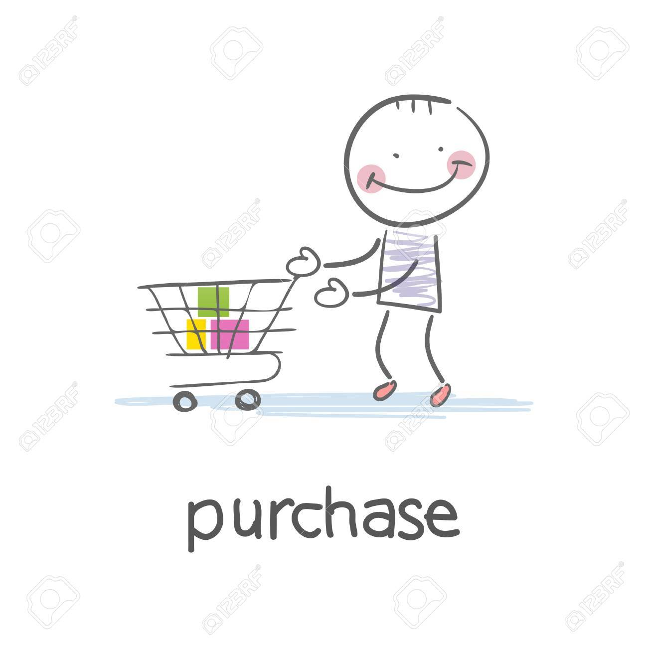 Shopping Stock Vector - 18035594