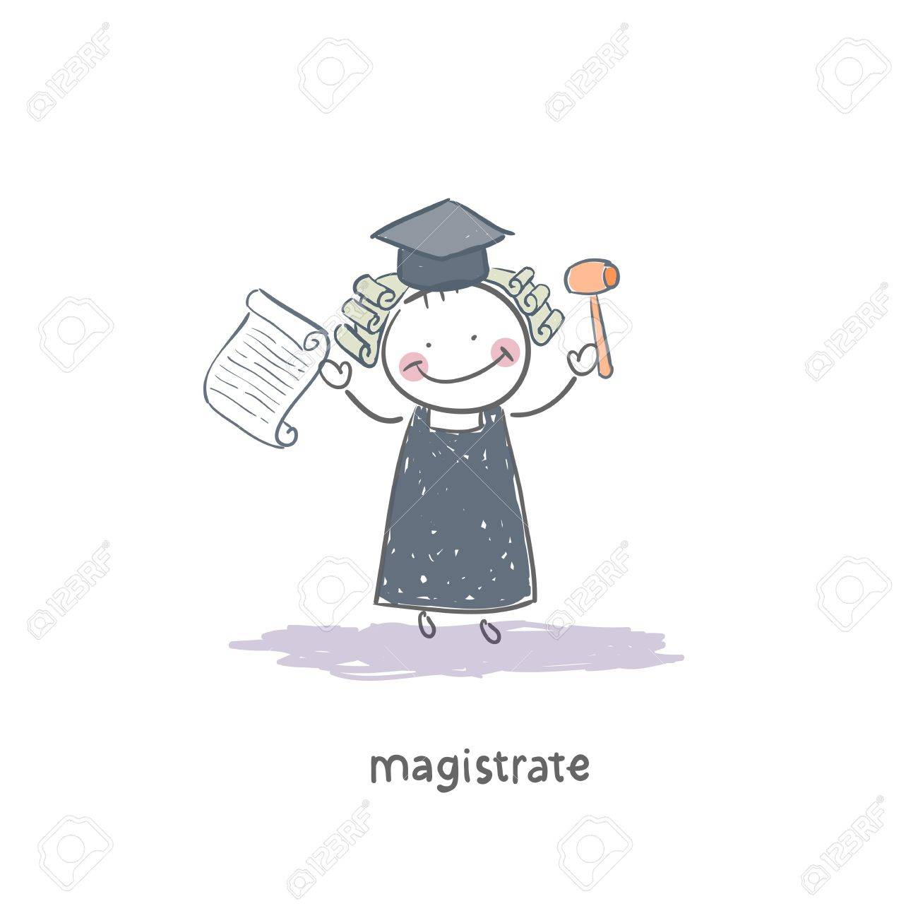 Magistrate Stock Vector - 18244720