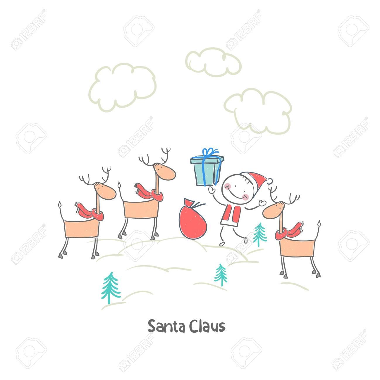 Santa Claus Stock Vector - 18244735