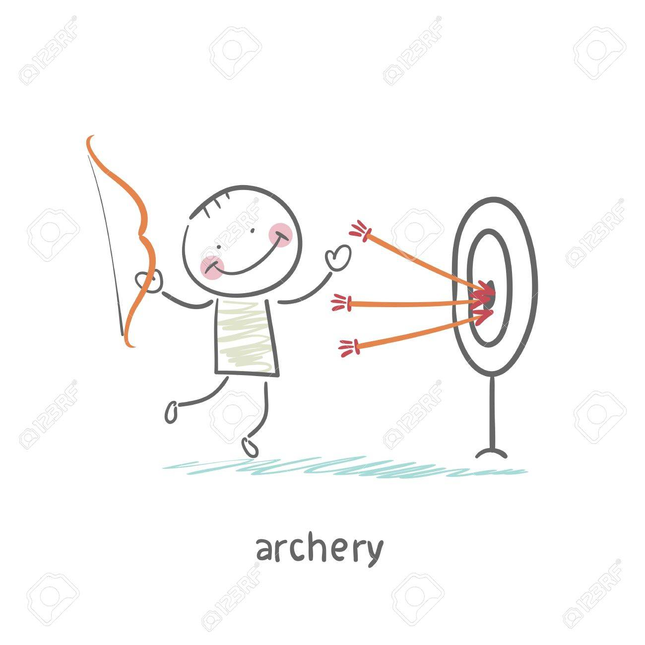 Archer Stock Vector - 18557883