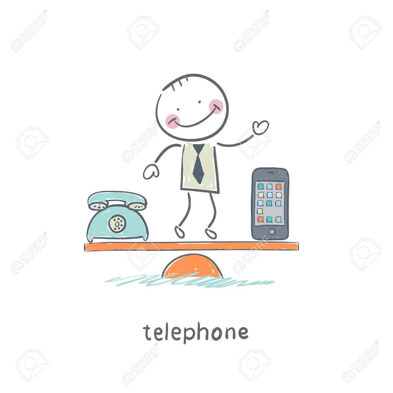 Phones Stock Vector - 18557996