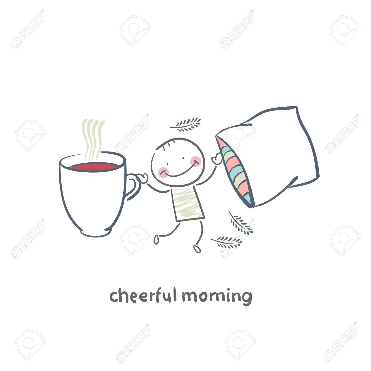 Cheerful morning Stock Vector - 18953197