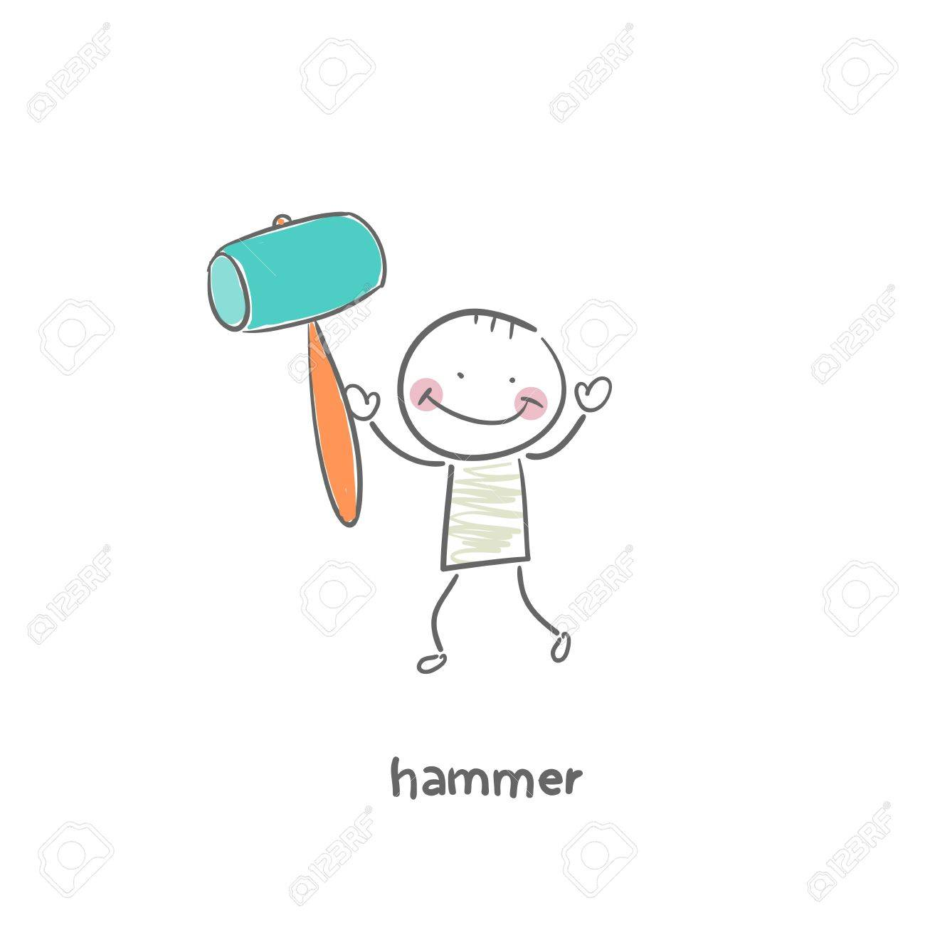 hammer Stock Vector - 18953233