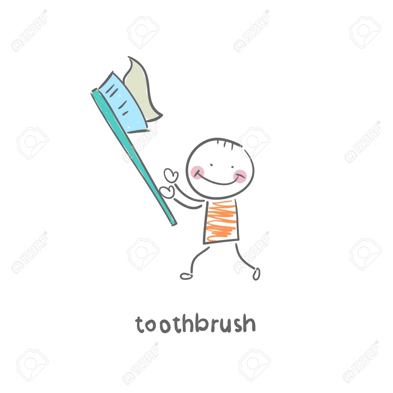 toothbrush Stock Vector - 18953236